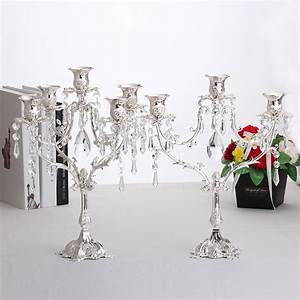 aliexpresscom buy fashion romantic metal candelabras With kitchen cabinets lowes with wedding candle holder centerpieces