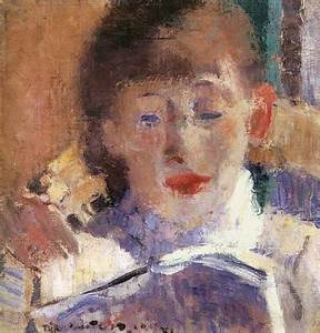 Reading And Art Rik Wouters