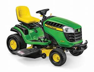 John Deere E130 Lawn Tractor Maintenance Guide  U0026 Parts List