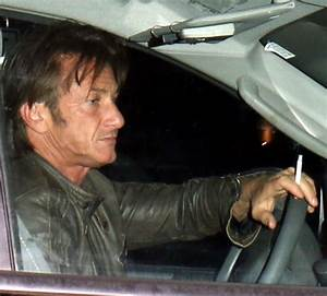 Sean Penn Smoking The Hollywood Gossip