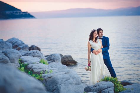 Wedding Photographer Greece  Beach Wedding Thassos
