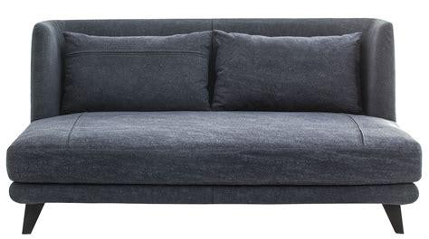 canapé jean canapé droit gimme more l 160 cm 2 places bleu jean