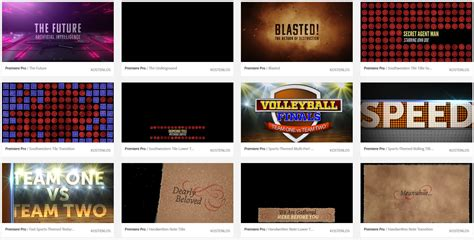 adobe premiere templates free slashcam news free adobe master artists motion graphics template collection for premiere pro cc