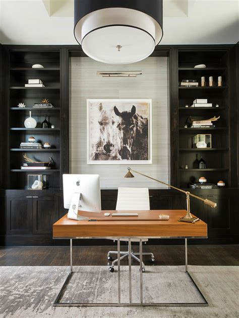 Contemporary Home Office Design Ideas
