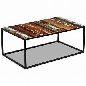 Couchtisch Recyceltes Holz : vidaxl couchtisch recyceltes massivholz 100x60x40 cm ~ Whattoseeinmadrid.com Haus und Dekorationen