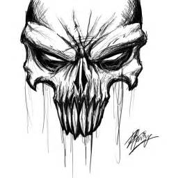 Awesome Skull Drawings and Sketches