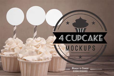 cupcake mock ups perfect  etsy product mockups