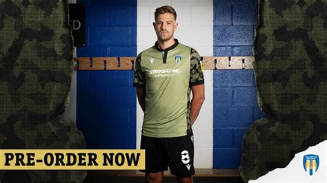 U's Reveal New Away Kit - News - Colchester United
