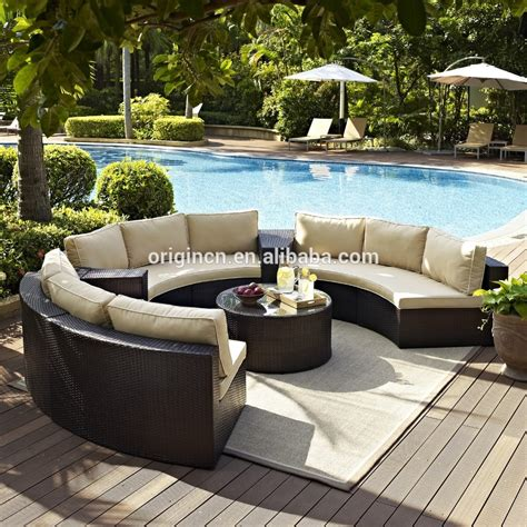 how to buy wicker garden furniture on a budget out out semi circle patio wicker chairs with sectional arm tables