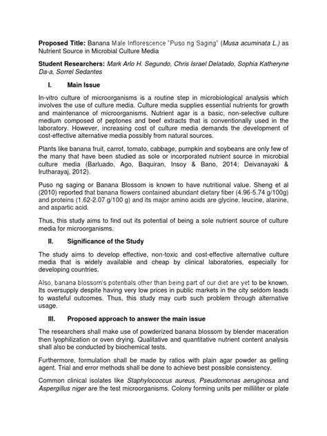 Sample paper for business studies class 12. Sample Thesis Concept Paper | Antibiotics | Growth Medium