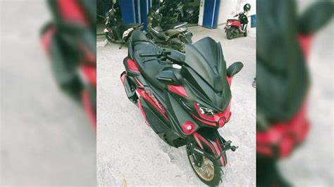 alleged yamaha nmax  spotted
