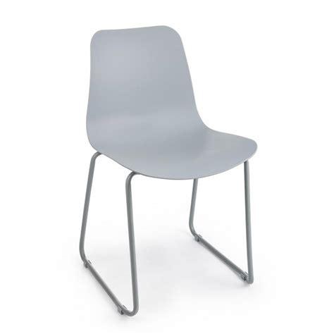 bizzotto sedie bizzotto sedia rockford in plastica con gambe a slitta in
