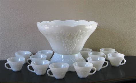 creamer and sugar bowl set glass punch bowl set bowl stand and 12 cups