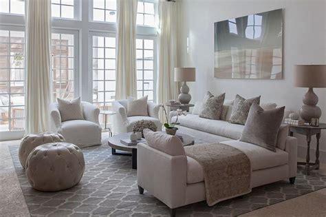Aqua Blue And Charcoal Gray Living Room Design