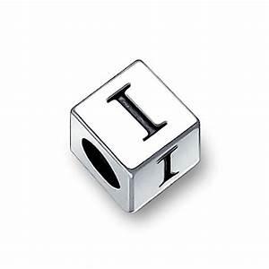 pandora alphabet block letter i charm With pandora block letters