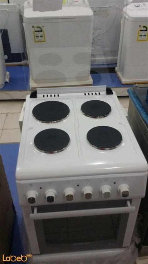 Starway electric oven, 4 burners, White color, FW5043GXZW