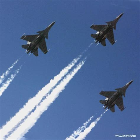 Indian Fighter Planes Rehearse For Republic Day Parade (2