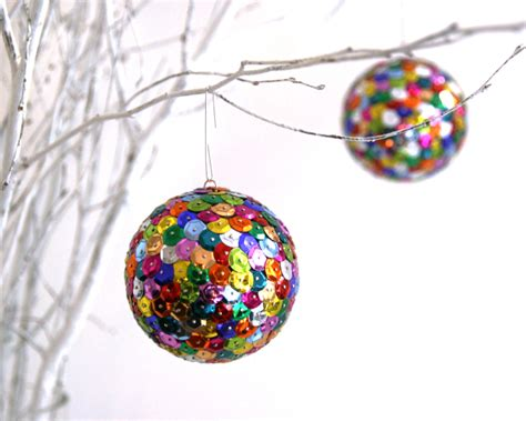 sparkly holiday ornaments   rs blog