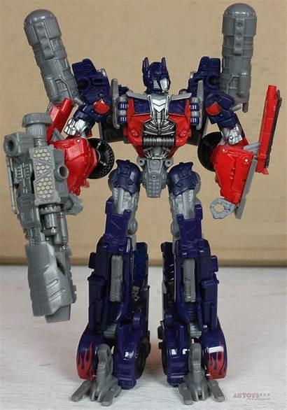 Optimus Prime Moon Dark Voyager Transformers Toy