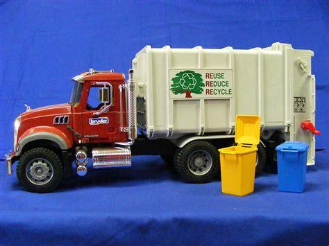 buffalo road imports mack granite rear load garbage truck