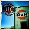 Vintage Sinclair Gulf Gas Station Signs in Arizona   Flickr