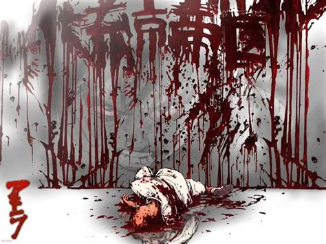 Gory Anime Wallpaper - bloody anime wallpaper background pictures