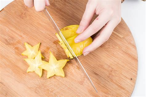 how to cut a how to cut a starfruit 11 steps with pictures wikihow