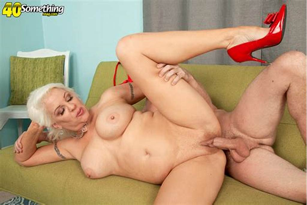 #Glorious #Milf #Is #Riding #On #A #Large #Cock #And #Making #That