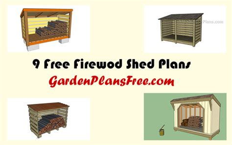 free wood storage shed plans 16 free firewood storage shed plans free garden plans