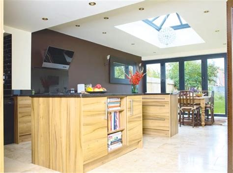 kitchens designs ideas kitchen with roof lantern side return roof 3555