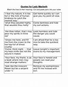 Quotes About La... Macbeth Scene Quotes