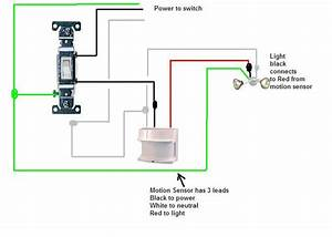 Can A Motion Sensor Light Be Installed Prior To A Regular Light Fixture At The End Of A Run  How