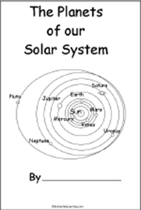 Planets Book for Early Readers - EnchantedLearning.com