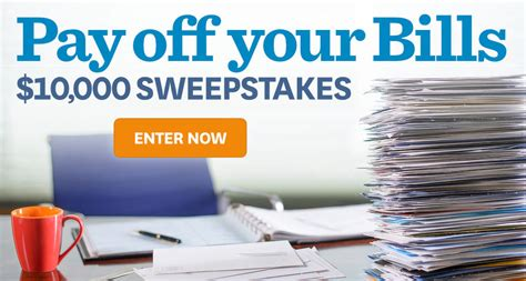 homes  gardens pay   bills sweepstakes