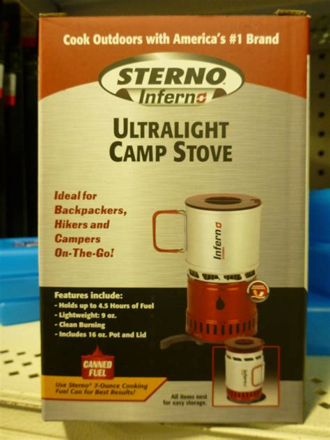 Sterno Candle L Butane Stove by Sterno Candle L Butane Picture Image Preview