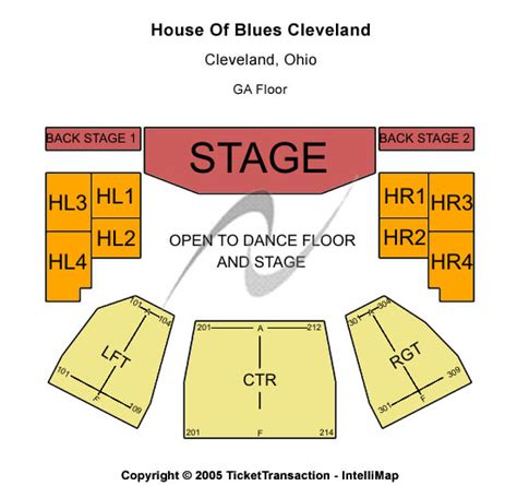 house of blues cleveland concerts