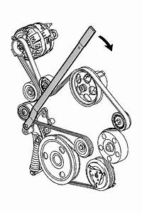 I U0026 39 M Replacing Engine Drive Belt Serpentine Belt On A 2007 Ss Whick Is The Tension Pulley For The