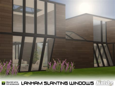 Mutske's Lanham Slanting Windows