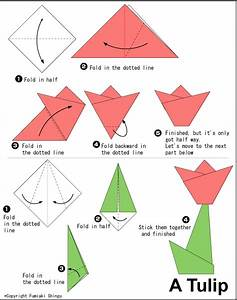 DIY: How to make an origami tulip | Guest Pinner: Cool Mom ...