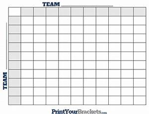 printable nfl football square grid office pool With free football square template