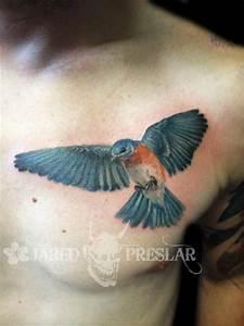 Blue Bird by Jared Preslar : Tattoos