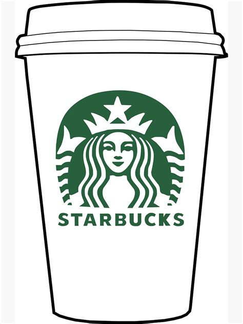 Letter food 5d diy diamond paintings chalkboard drawing picture. Starbucks Coffee Logo Drawing