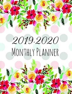 monthly planner yearly planner months