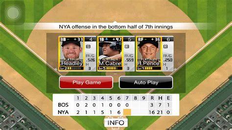 Gameplay E4 9 Innings Pro Baseball