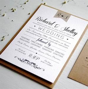 elegant type vintage wedding invitation by rodo creative With elegant wedding invitations number