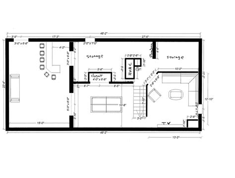 Basement Layout Ideas For Small Spaces