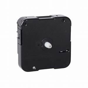 Quartex® Push-On Quartz Clock Movement, Non-Threaded