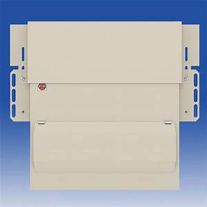 7 Way Dual Rcd Skeleton Consumer Unit   100a Switch