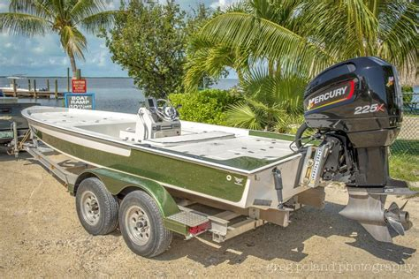 Viper Flats Boats For Sale by 2003 20 Ft Lake And Bay Flats Boat Sold