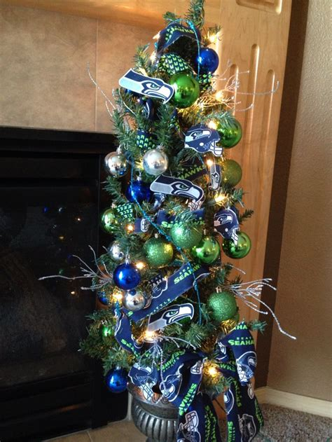 9 best images about seattle seahawks decor on ornament tree trees and
